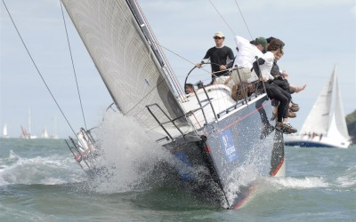 Serious racing, Farr 52 in action