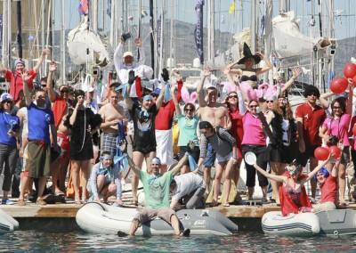 Cowes will remember this lot for a while! Great fun!