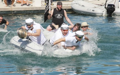 Not just sailing - it's all about the team!